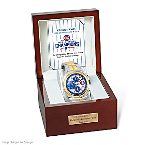 2016 World Series Champions Chicago Cubs Commemorative Watch