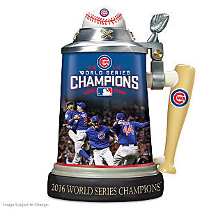 Cubs 2016 World Series Commemorative Stein