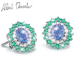 "Alfred Durante ""Opal Island"" Earrings"