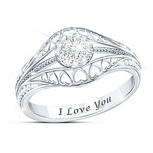"""The Promise"" Women's Diamond Ring"