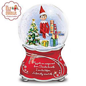 The Elf On The Shelf Musical Glitter Globe