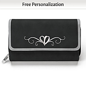 Today, Tomorrow, Always My Granddaughter Personalized Wallet