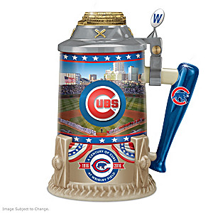 Cubs At Wrigley Field 100th Anniversary Commemorative Stein