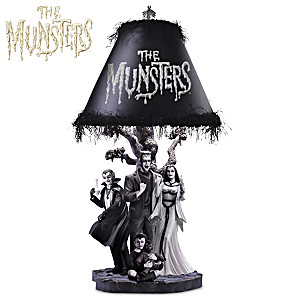 "The Munsters ""Ghastly Glow"" Table Lamp"