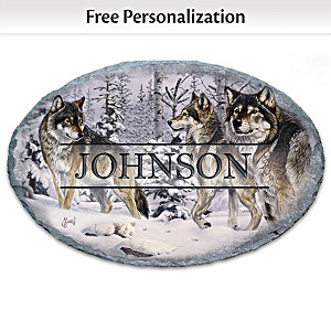 "Al Agnew ""Gathering Of The Pack"" Personalized Welcome Sign"