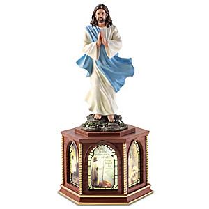 """Greg Olsen """"The Lord's Prayer"""" Illuminated Sculpture"""