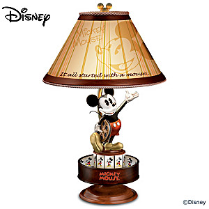 Disney mickey mouse animation magic collectible motion lamp disney mickey mouse animation magic spinning lamp aloadofball Gallery