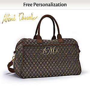 Alfred Durante Personalized Monogram Quilted Weekender