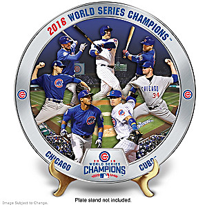 Cubs 2016 World Series Champions Commemorative Plate