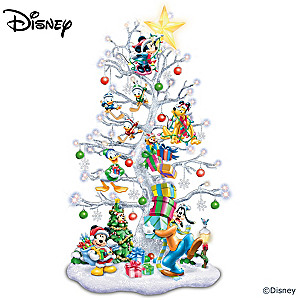 """Magic Of Disney"" Pre-Lit Christmas Glitter Tree"