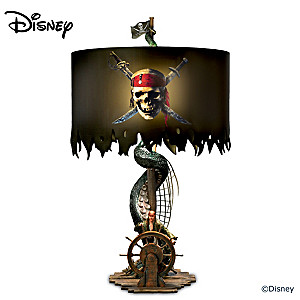 "Disney ""Pirates Of The Caribbean"" Jack Sparrow Tabletop Lamp"
