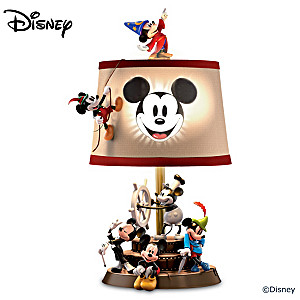 "Disney ""Mickey Mouse Through The Years"" Table Lamp"