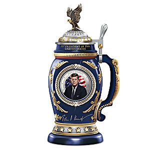 President John F. Kennedy Commemorative Porcelain Stein