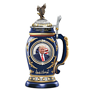 President Donald J. Trump Collectible Porcelain Stein