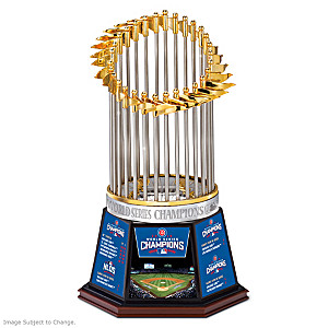 Cubs 2016 World Series Champions Commemorative Trophy