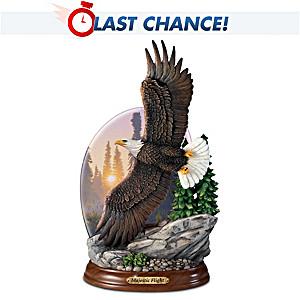 "Al Agnew ""Majestic Flight"" Illuminated Eagle Sculpture"