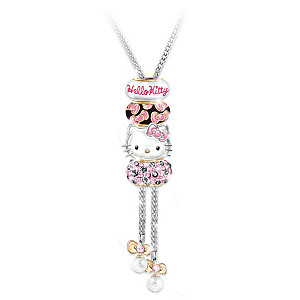 "Hello Kitty ""Face Of Fashion"" Sliding Beaded Necklace"