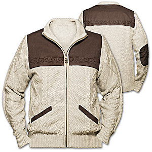 Irish Spirit Men's Sweater Jacket