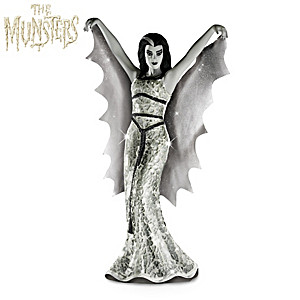 THE MUNSTERS Lily Munster Glass Mosaic Sculpture