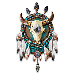 "James Meger ""Thundering Spirits"" Dreamcatcher Wall Decor"