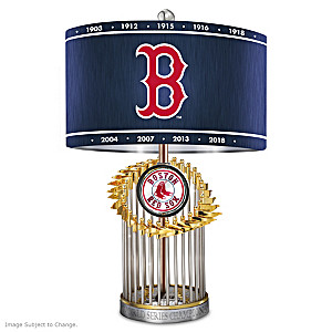 Boston Red Sox World Series Commemorative Table Lamp