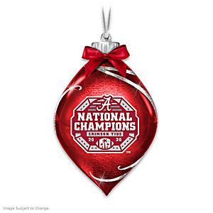 Alabama 2020 Football National Champions Lighted Ornament