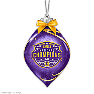 LSU 2019 Football National Champions Lighted Ornament