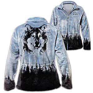 "Al Agnew ""Spirit Of The Wild"" Women's Fleece Jacket"
