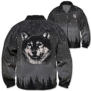 "Al Agnew ""Wild Spirit"" Men's Brushed Fleece Jacket"