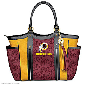 """Touchdown Redskins!"" Designer Style Shoulder Tote"