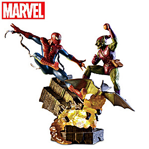 MARVEL SPIDER-MAN Illuminated Sculpture