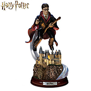 "HARRY POTTER ""Harry's Magical Flight"" Illuminated Sculpture"