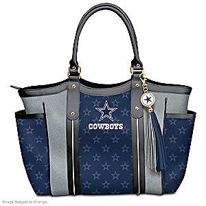 cce166b9d Touchdown Dallas Cowboys! NFL Tote Bag