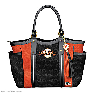 "Officially Licensed ""Home Run Giants!"" Shoulder Tote"
