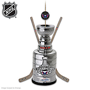 Capitals® 2018 Stanley Cup® Champions Ornament