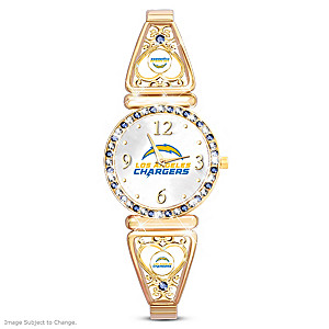 """My Chargers"" Ultimate Fan Women's Wristwatch"