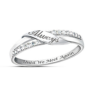 """Until We Meet Again"" Diamond Remembrance Ring"