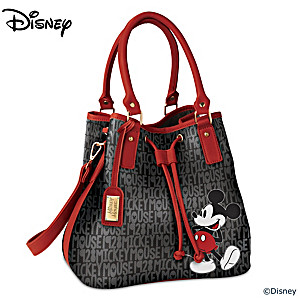 "Disney ""Forever Mickey Mouse"" Women's Fashion Handbag"
