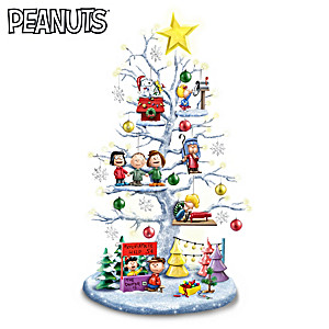 The Perfect PEANUTS Christmas Tabletop Tree