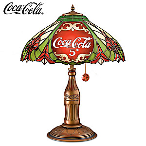 """COCA-COLA """"Classic Elegance"""" Table Lamp"""