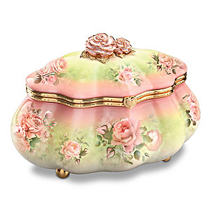 Granddaughter, I Love You Always Antique Style Music Box