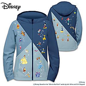 """The Magic Of Disney"" Women's Softshell Character Art Jacket"