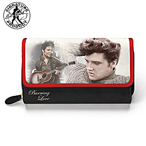 "Elvis Presley ""Burning Love"" Women's Wallet"