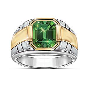 Force Of Nature Men's Helenite Ring