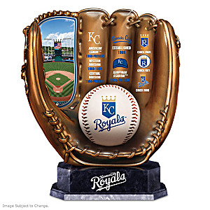 Kansas City Royals Tribute Cold-Cast Bronze Glove