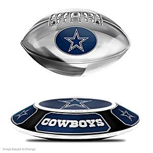 Cowboys Levitating Football Lights Up And Spins