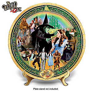 THE WIZARD OF OZ Porcelain Masterpiece Collector Plate