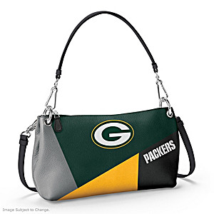 Green Bay Packers Convertible Handbag: Wear It 3 Ways