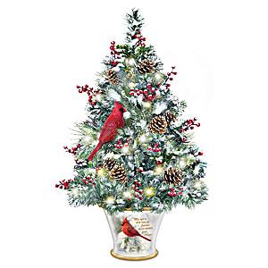 My Spirit Will Live On Tabletop Tree