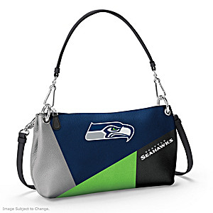 Seattle Seahawks Convertible Handbag: Wear It 3 Ways